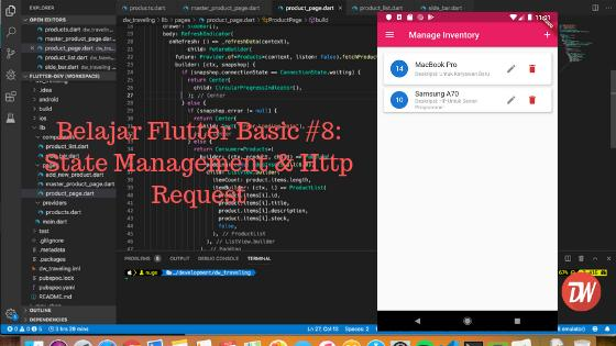 Belajar Flutter Basic #8: State Management & Http Request