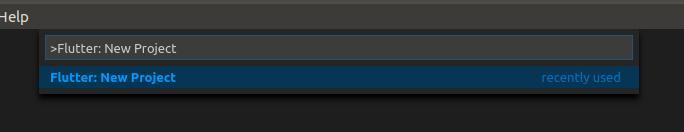 install flutter via vscode