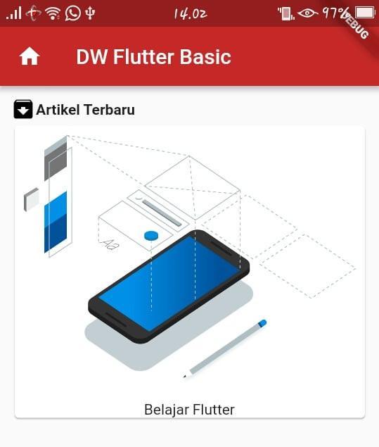 tutorial flutter