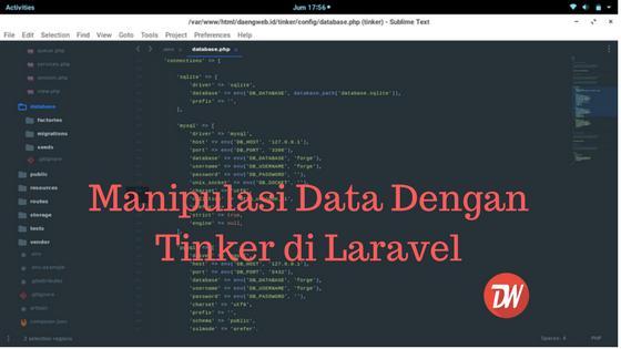 Manipulasi Data Dengan Tinker di Laravel