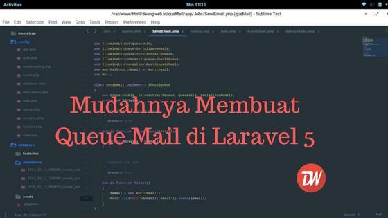 Mudahnya Membuat Queue Mail di Laravel 5