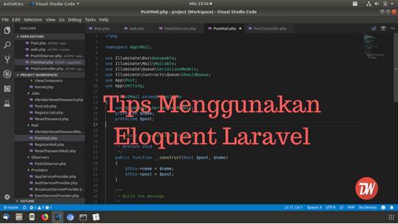 Tips Menggunakan Eloquent Laravel