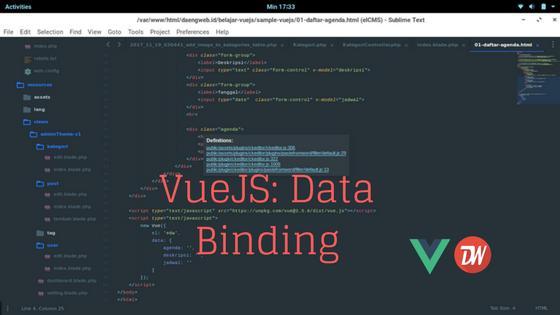 VueJS: Data Binding