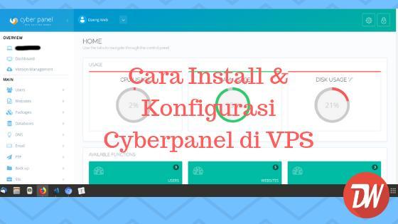 Cara Install & Konfigurasi Cyberpanel di VPS